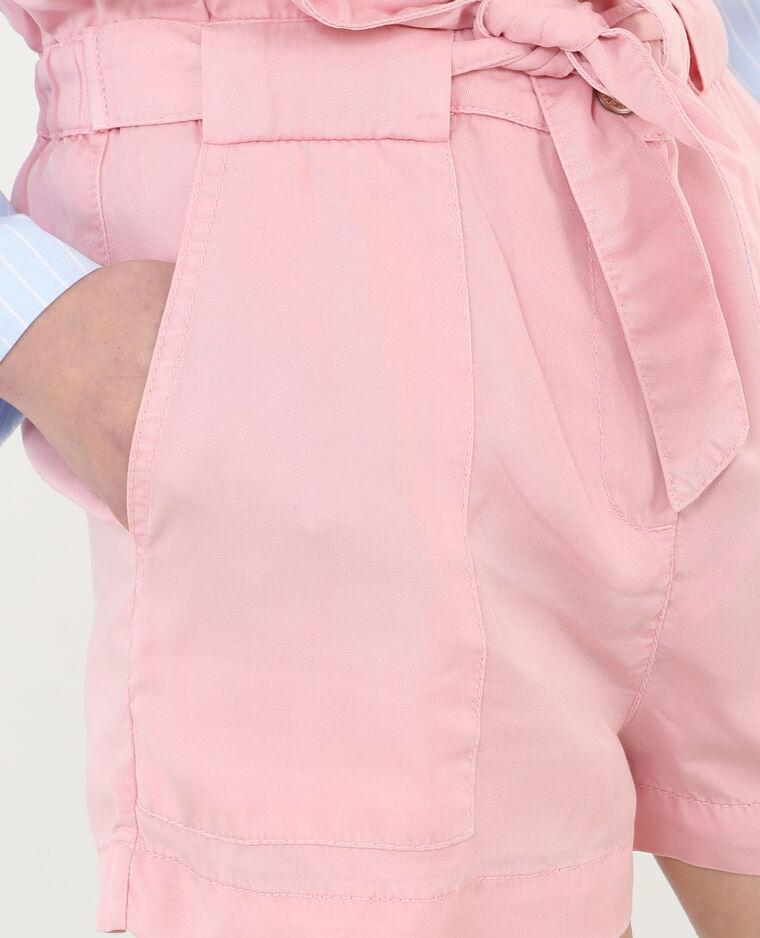 Short a vita alta rosa