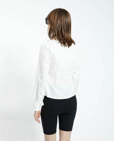 Camicia basic bianco sporco - Pimkie
