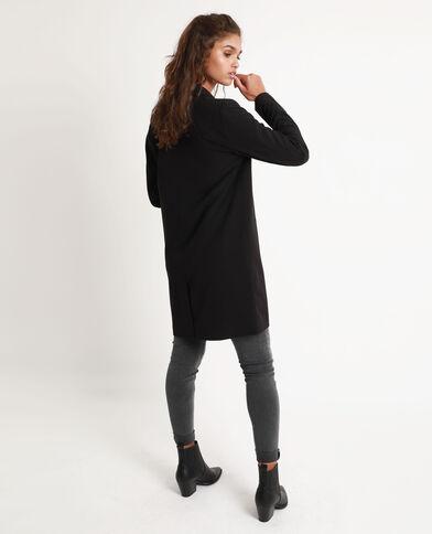 Cappotto morbido nero