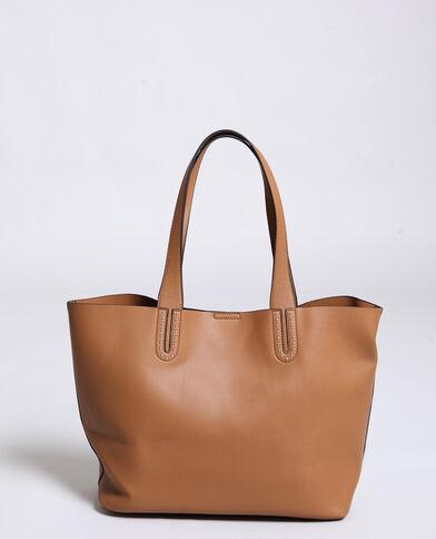 Grande borsa morbida marrone