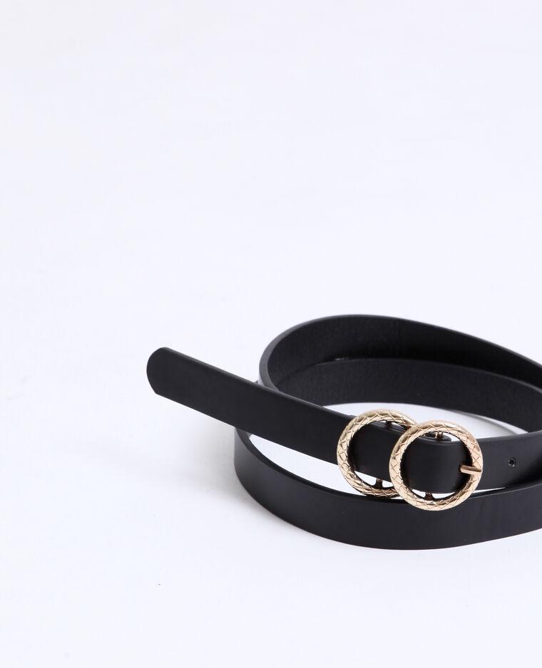 Cintura sottile. nero