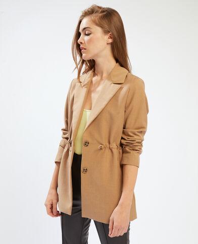 Giacca blazer regolabile caramello - Pimkie