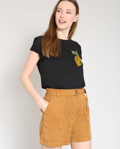 T-shirt limone nero