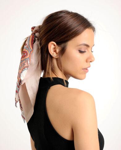 Lotto da 2 elastici per capelli con nastri rosa