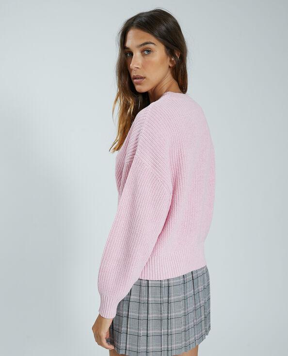 Pull in maglia rosa - Pimkie