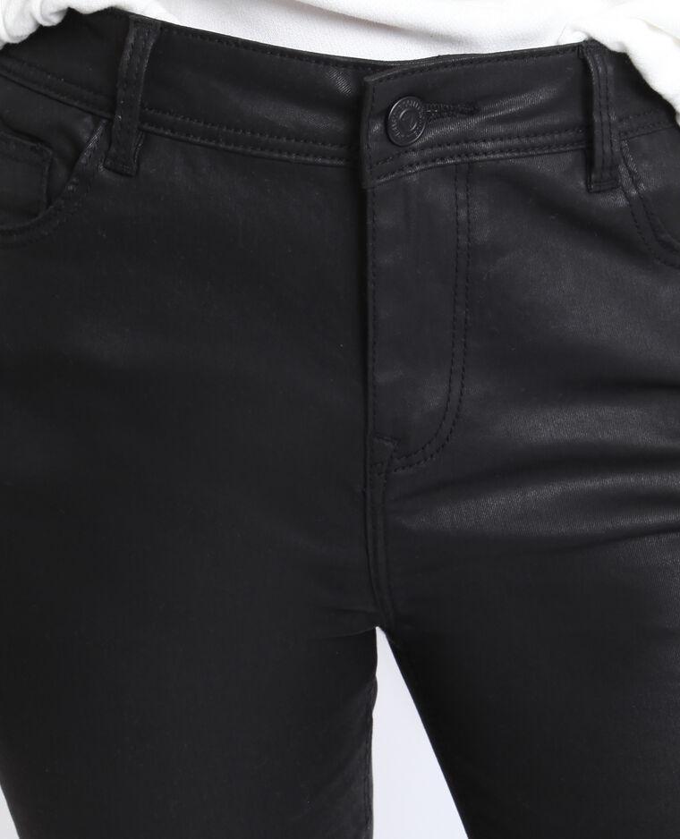 Skinny spalmato nero