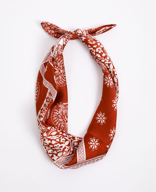 Foulard bandana rosso