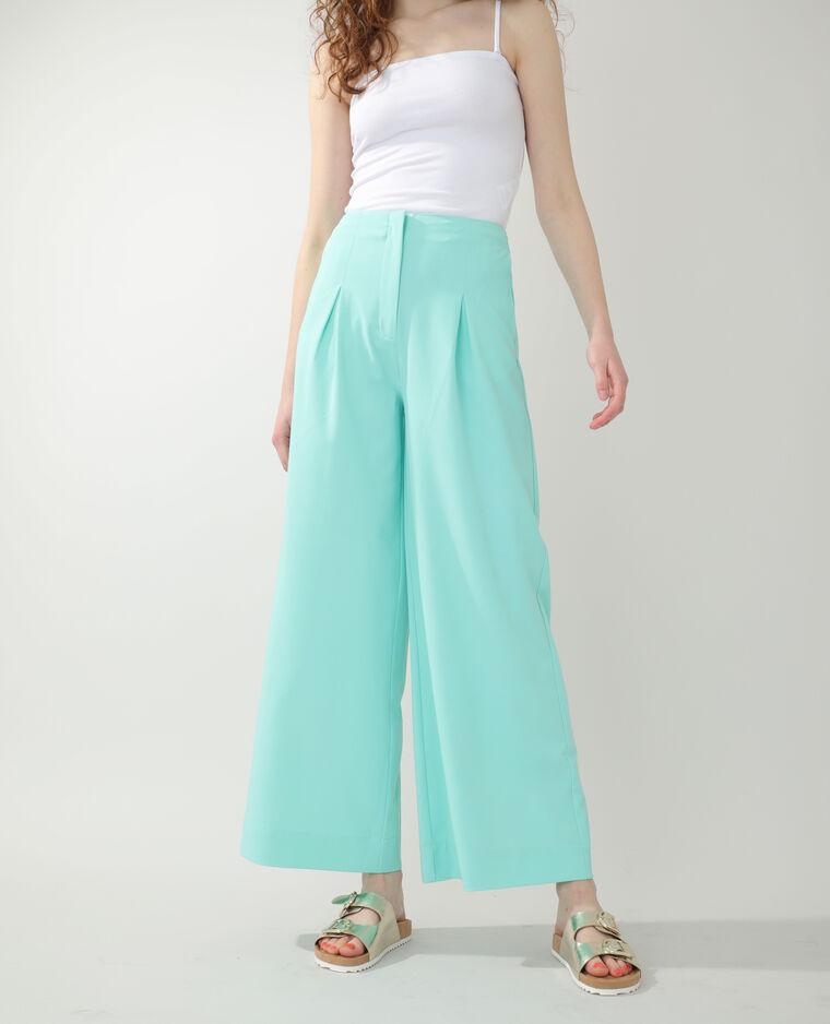 Pantalone city ampio verde - Pimkie