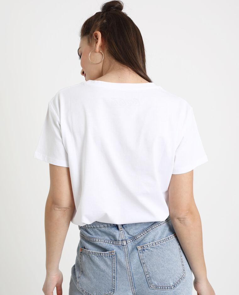 T-shirt Cherry Coke bianco