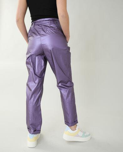 Pantalone iridato parme - Pimkie