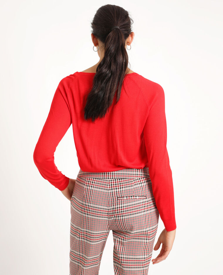 Pull leggero rosso