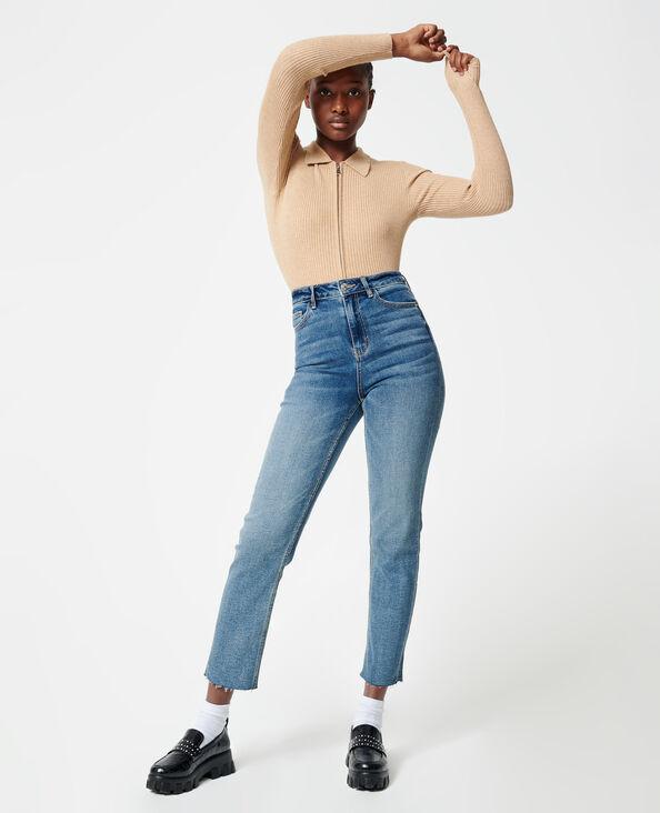 Jeans straight blu denim - Pimkie