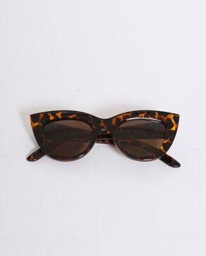 Occhiali da sole occhi di gatto marrone