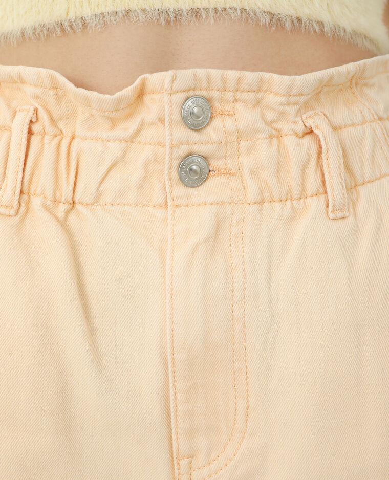 Jeans mom high waist arancio - Pimkie