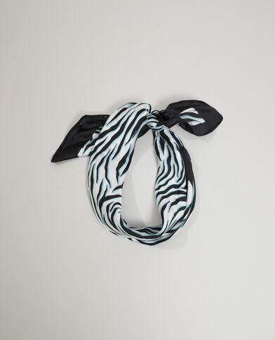 Foulard zebrato bianco - Pimkie