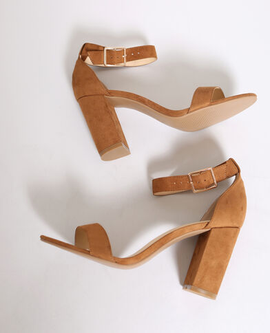 Sandali con i tacchi marrone