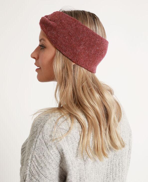 Headband per capelli bordeaux