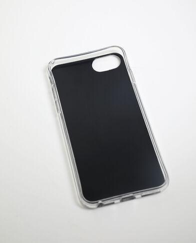Custodia compatibile con iPhone 6/6S/7/8 nero