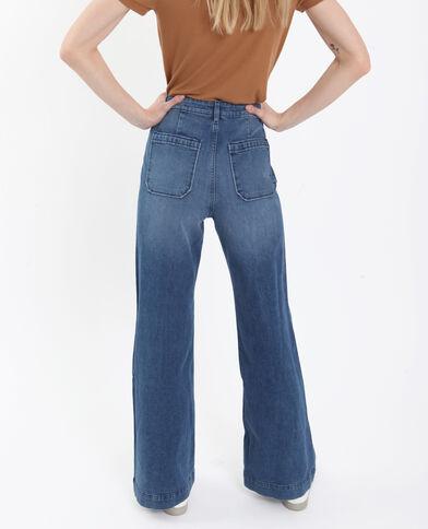 Jeans flare blu