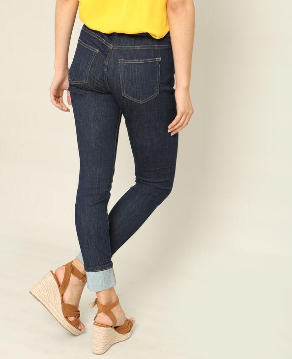 Jeans skinny mid waist blu