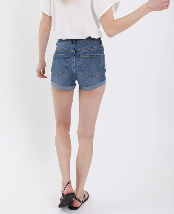 Short in jeans blu denim