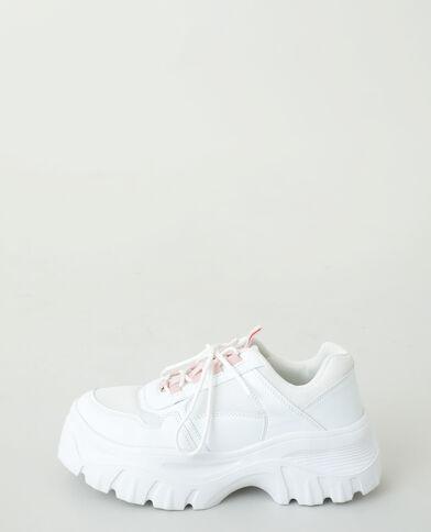 Scarpe da tennis dad shoes bianco sporco - Pimkie