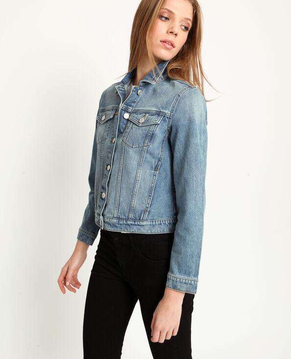 49f04b149331ca Giacca in jeans blu delavato