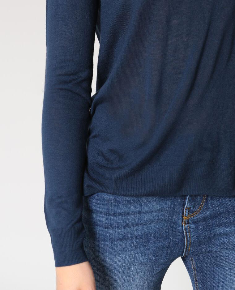 Pull leggero blu marino