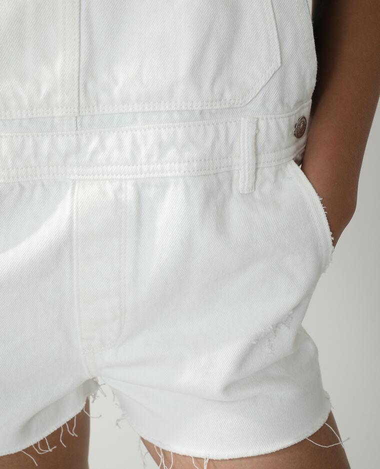 Salopette short bianco - Pimkie