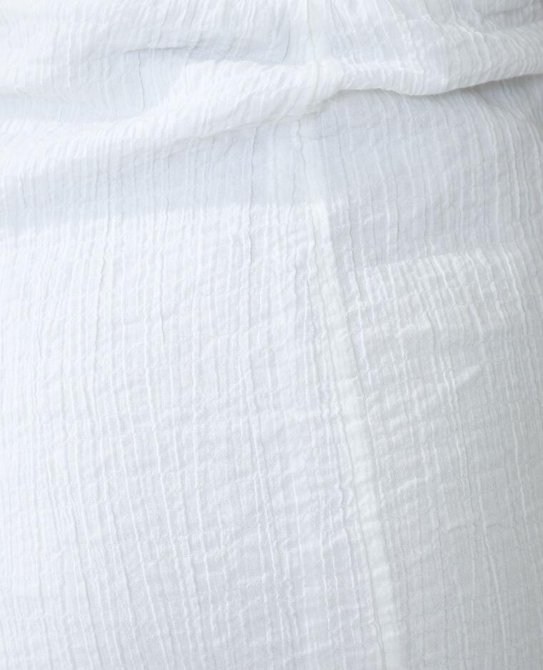 Abito con texture bianco sporco - Pimkie