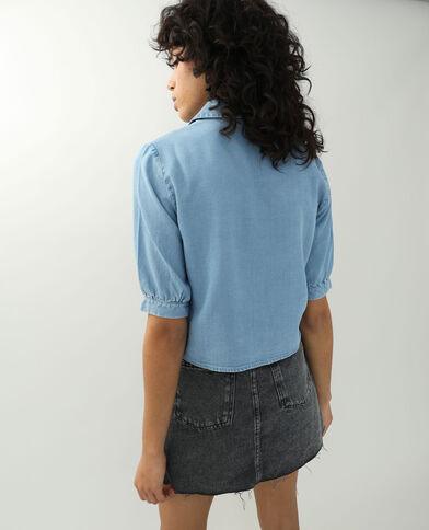 Camicia di jeans blu chiaro - Pimkie