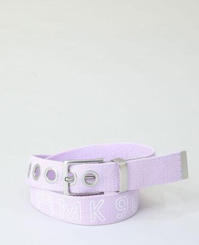 Cintura in cotone viola - Pimkie