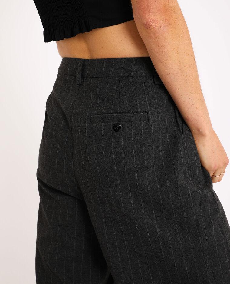 Pantalone largo grigio