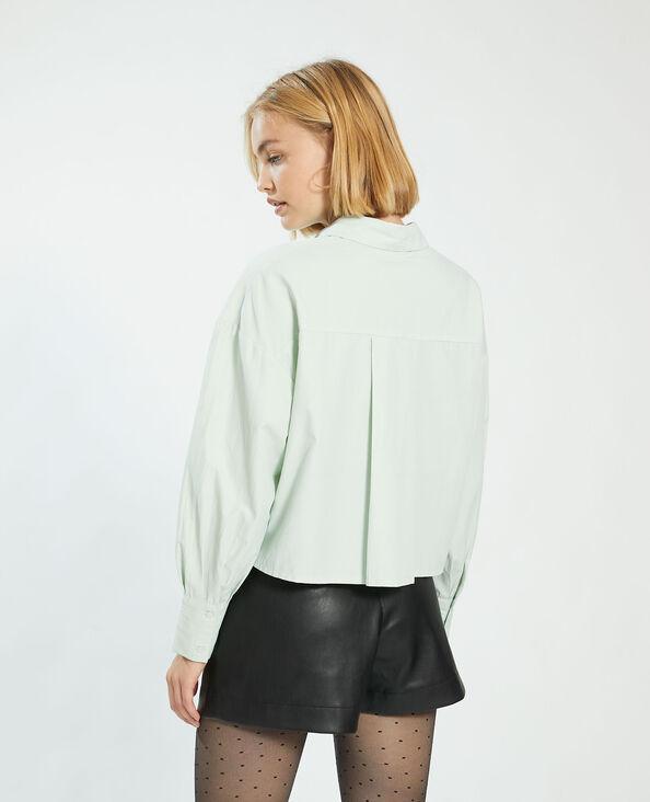 Camicia cropped verde - Pimkie