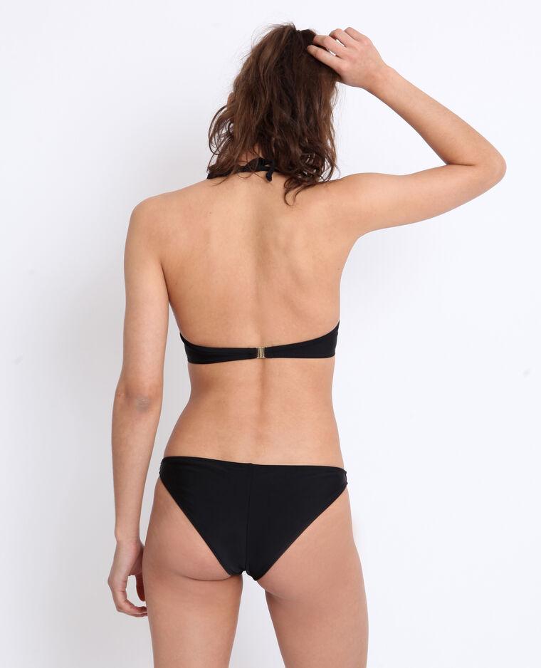 Pezzo sotto di bikini tanga nero