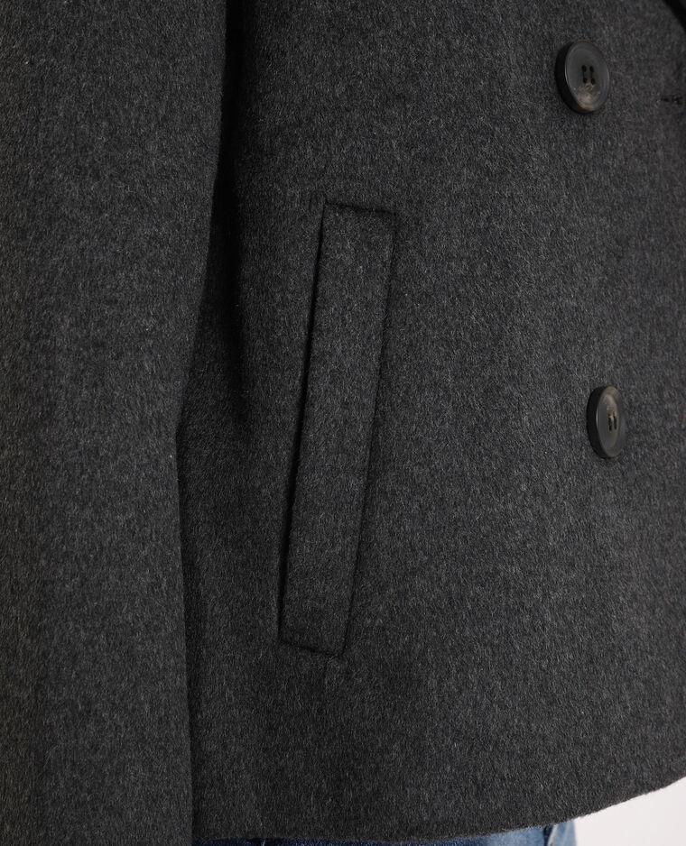Cappotto corto grigio