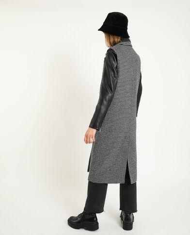 Cappotto senza maniche nero