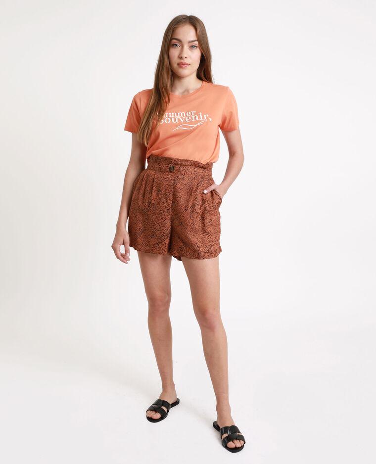 T-shirt Honey pesca