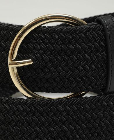 Cintura intrecciata nero - Pimkie