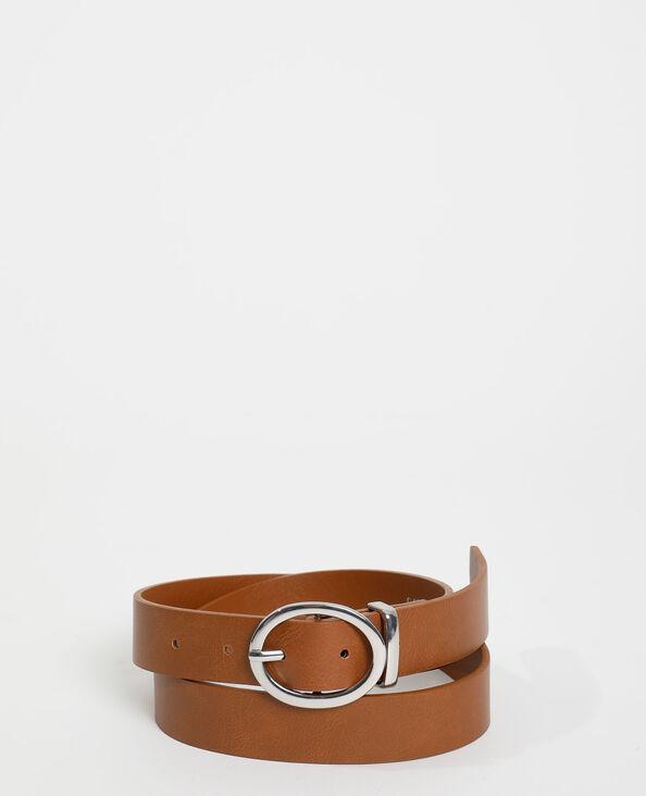 Cintura in similpelle beige sabbia - Pimkie