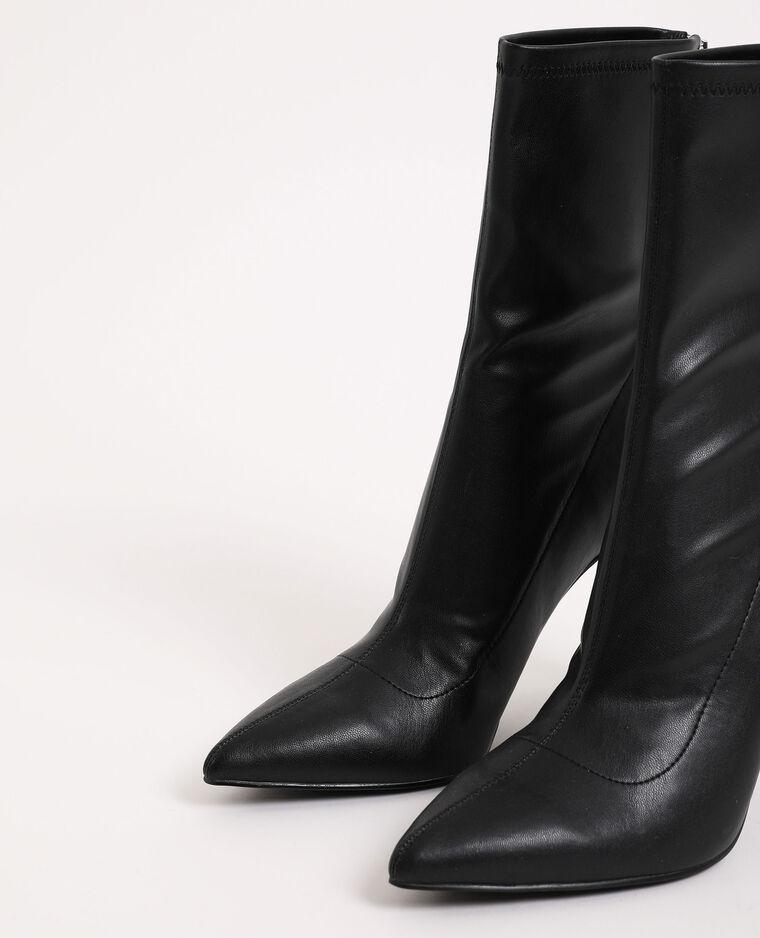 Stivali a punta nero