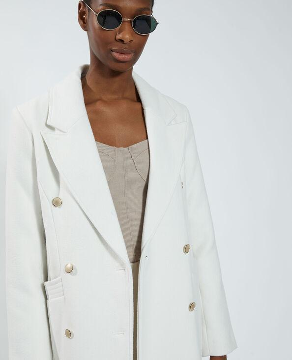 Cappotto lungo bianco - Pimkie