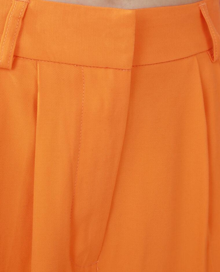 Pantalone wide leg arancio - Pimkie