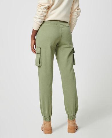 Pantalone cargo kaki - Pimkie