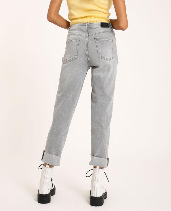 Jeans straight grigio