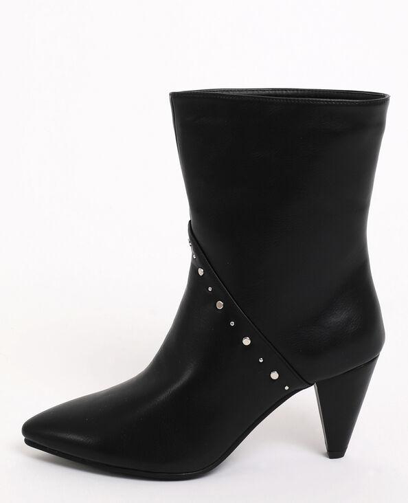 Stivali con borchie nero