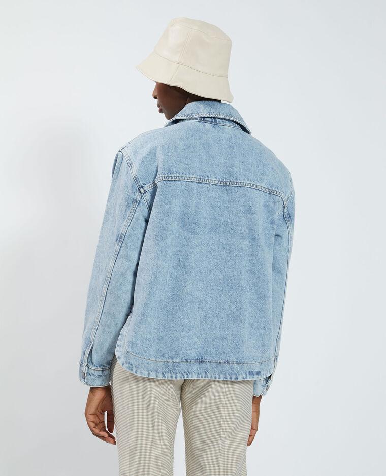 Giacca di jeans blu denim - Pimkie
