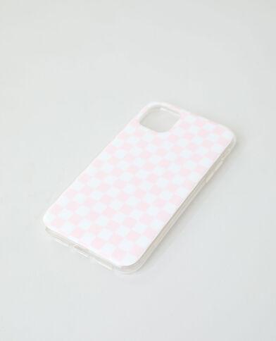 Custodia compatibile con iPhone rosa