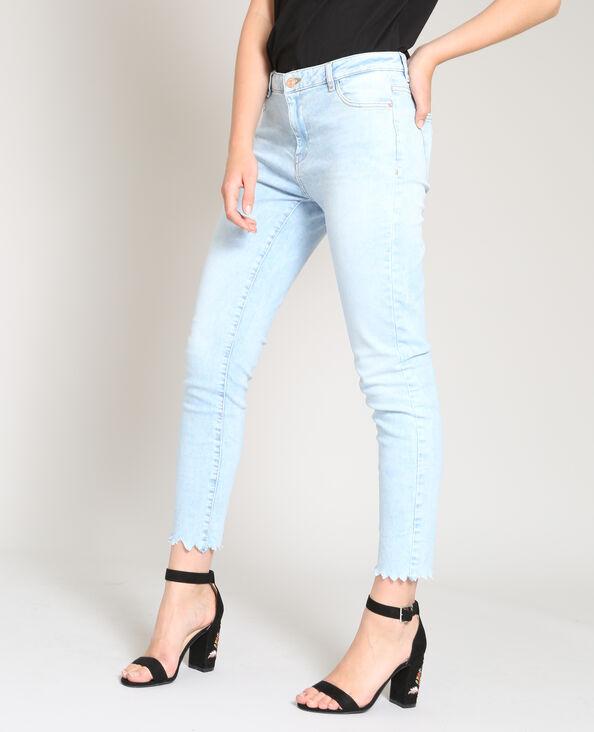 Jeans skinny mid waist blu chiaro