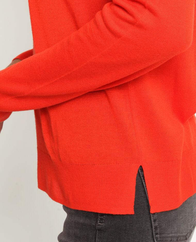 Pull sottile arancio